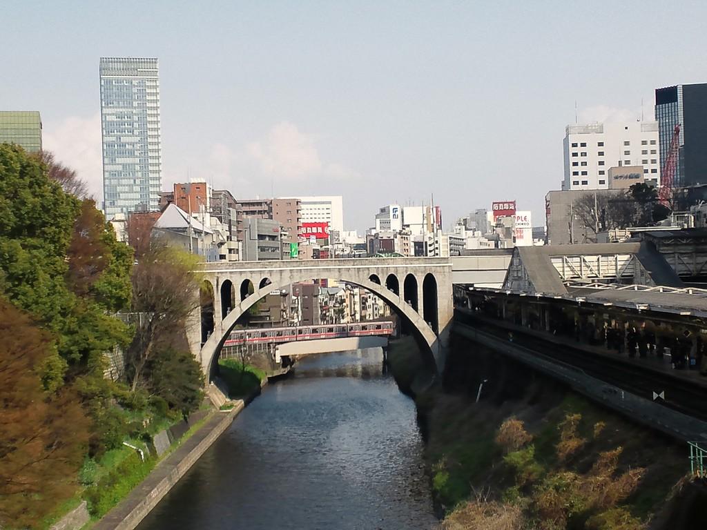 御茶ノ水駅-聖橋-