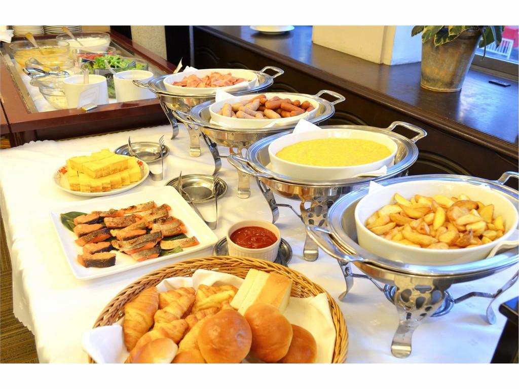 朝食バイキング【イメージ】