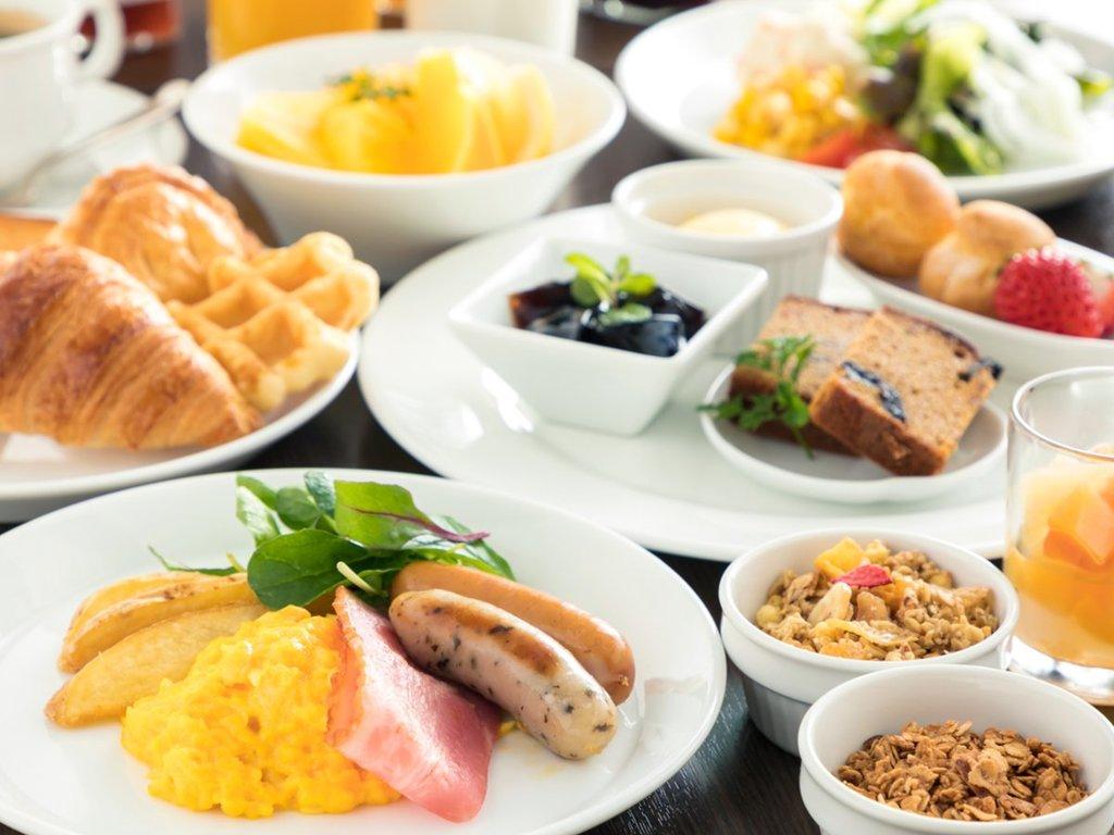 【朝食】和洋ビュッフェ