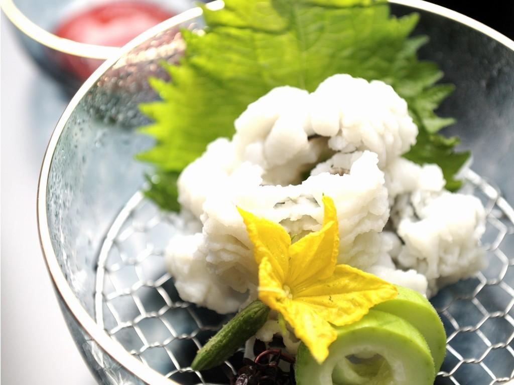 夏を五感で感じさせてくれる、鱧(はも)料理を堪能!画像はイメージです。