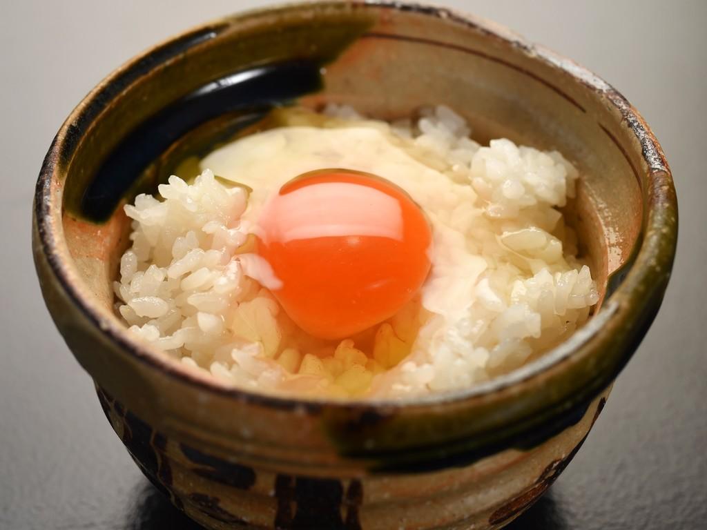卵かけご飯もご用意しております♪(画像はイメージ)