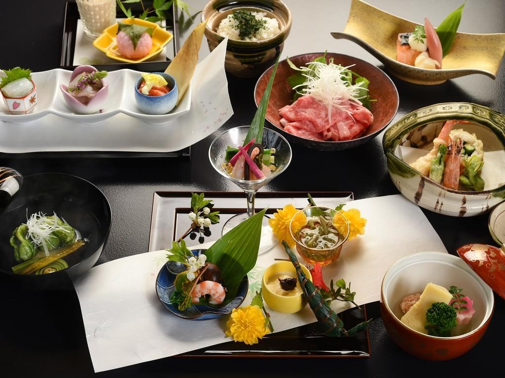 京料理をお楽しみ下さい(お料理一例)