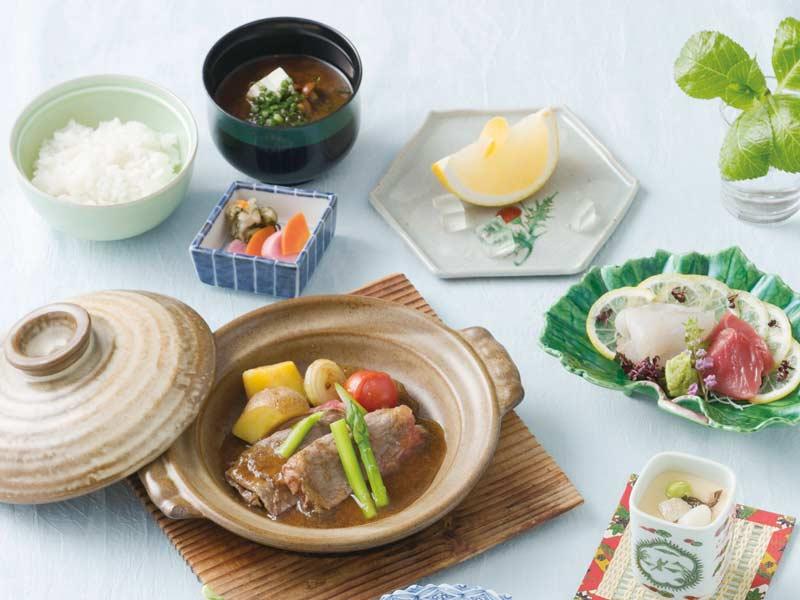 日本料理「さくら」長崎県産鱧しゃぶしゃぶ会席