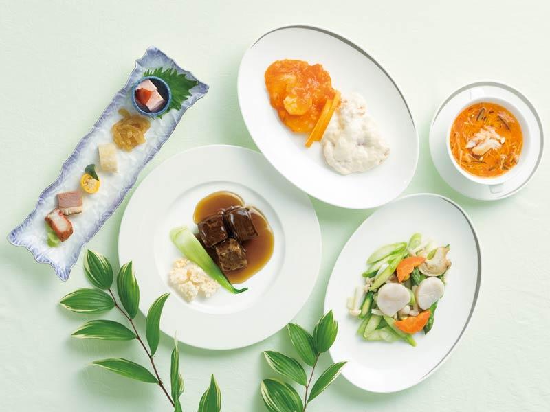 中国料理「桃花林」5周年記念ディナーコース