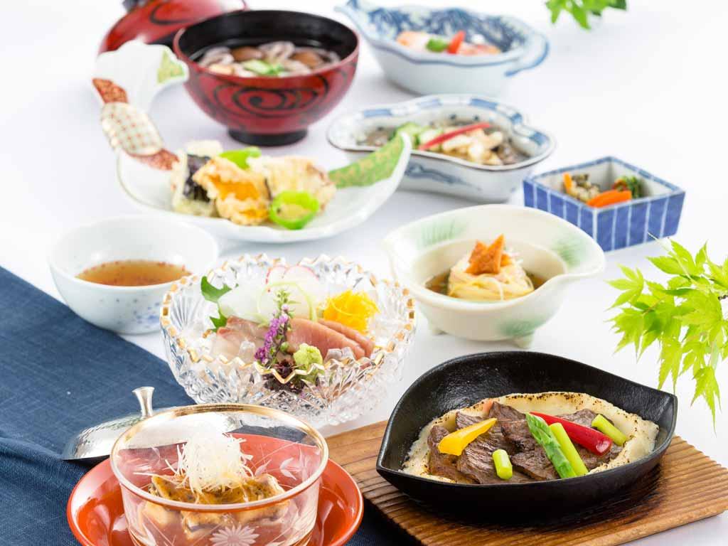 日本料理「さくら」清涼会席