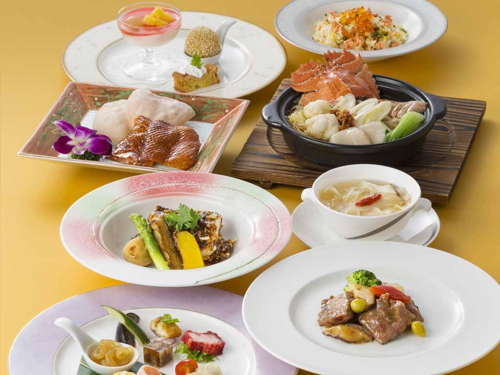 中国料理「桃花林」中秋コース