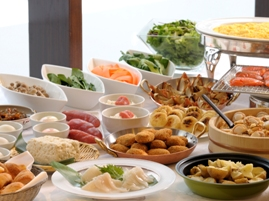 朝食:和洋バイキング(イメージ)