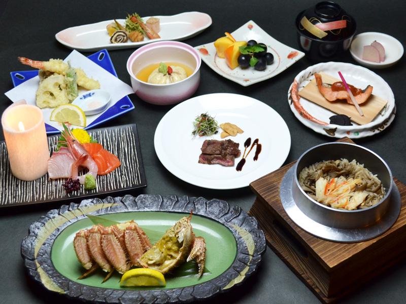 【花遊膳】特製釜飯と蟹の膳