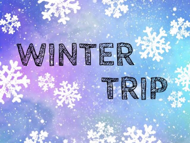 【冬色☆のんびり温泉旅】