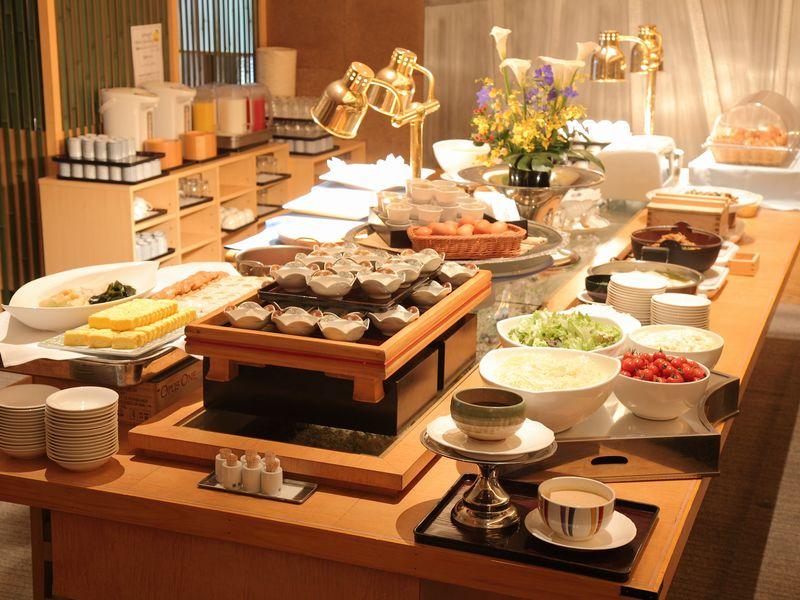 【朝食】和洋バイキング☆お好きなものをどうぞ♪
