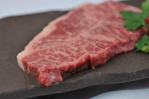 肥後牛霜降りステーキ