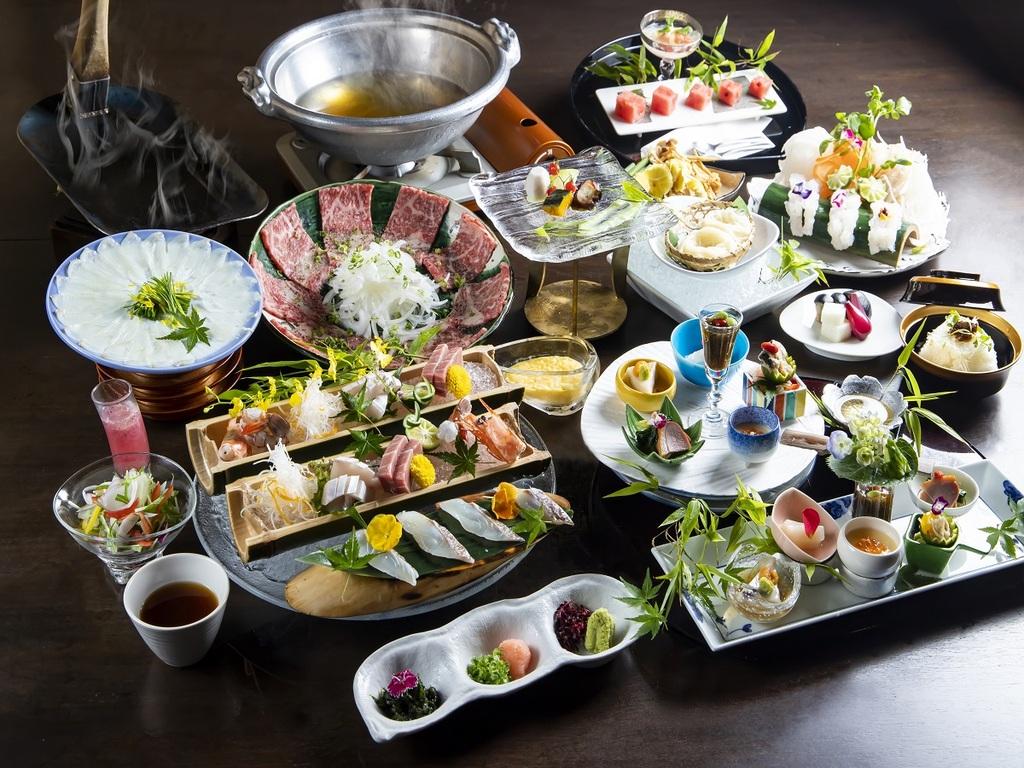 夕食 彩麗( 一例)