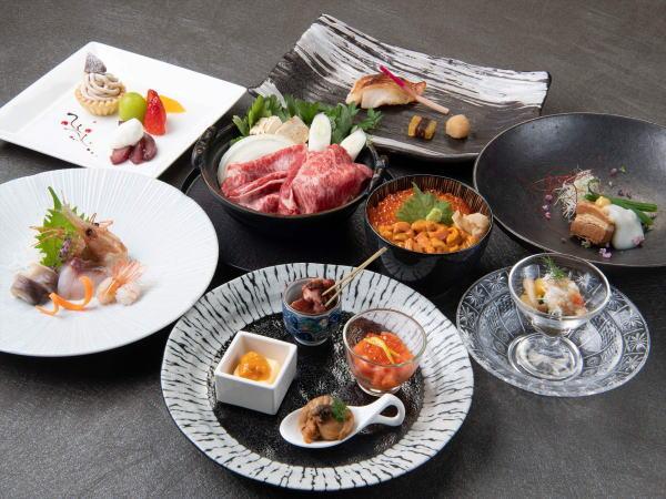 北海道の恵みを使用した「和食コース」