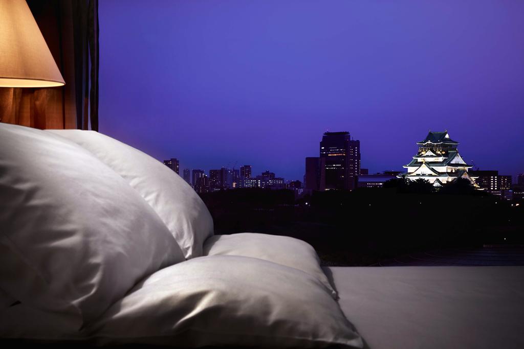 部屋から見る大阪城