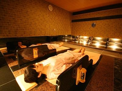 女性専用 岩盤浴(宿泊者¥500円)