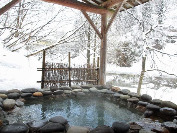 【冬】山の湯・石湯露天