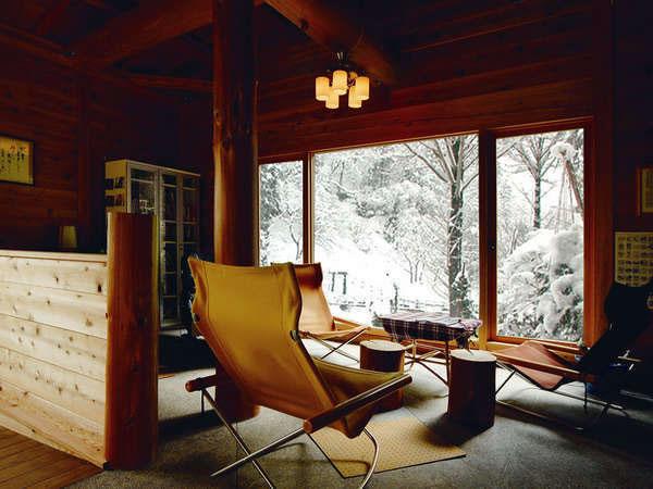 【冬】<貸切風呂・湯上がり処> CD、書籍、マッサージチェアなどあり