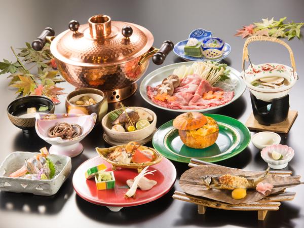 2018年【秋の美味厳選】彩り豊かなお料理の数々