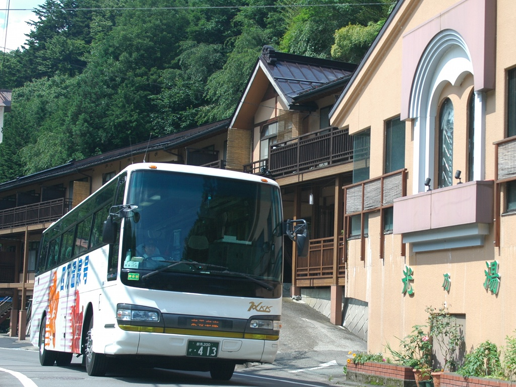 Direct bus from Tokyo to Shima Onsen