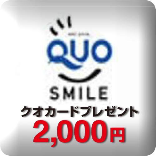 ビジネスマンにおすすめ!QUOカード¥2,000付