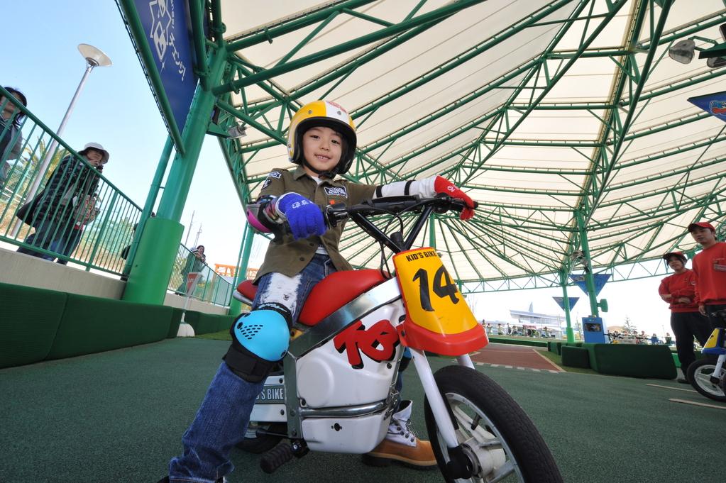 はじめてのオートバイ体験!【キッズバイク】