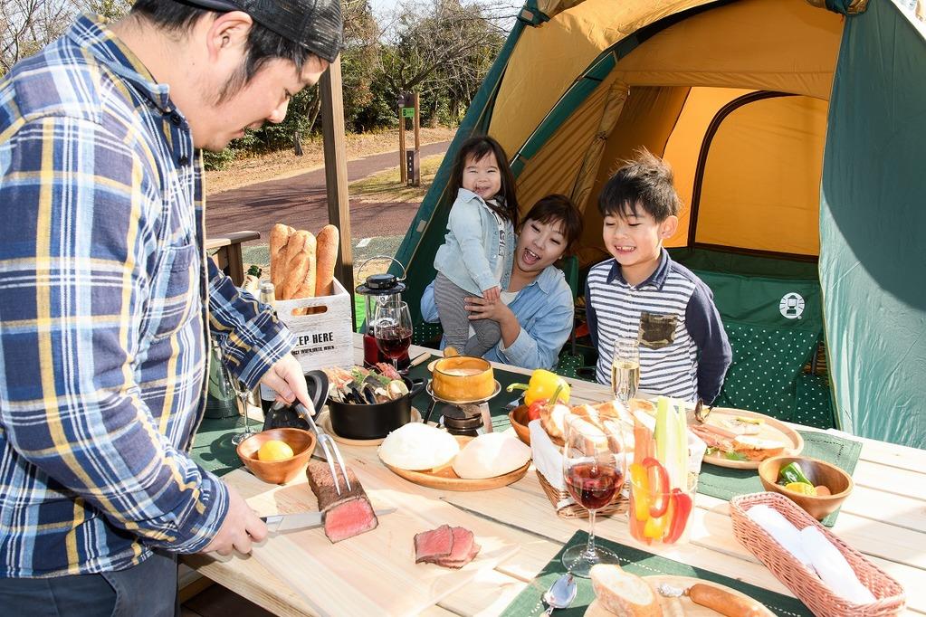 ファミリーキャンプイメージ