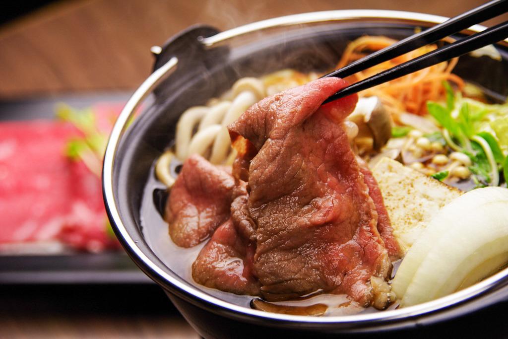 熟成肉のすき焼き(イメージ)