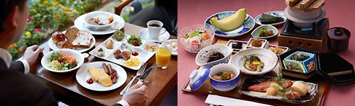 特典選べる朝食