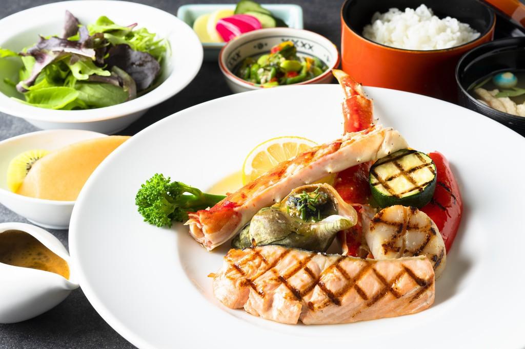 海鮮グリル定食