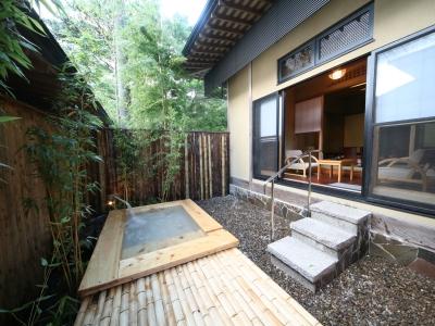 福の竹の露天風呂