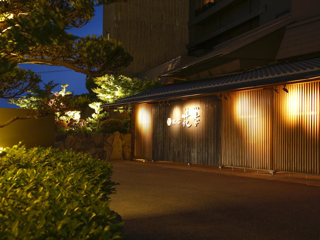 古茂江の岬にひっそりと佇む和み宿(夜)