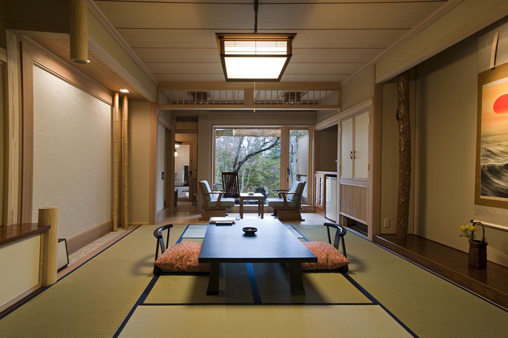 和室「ふじ」の客室