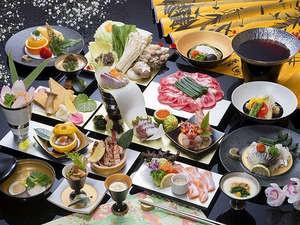 旬の和食会席料理一例