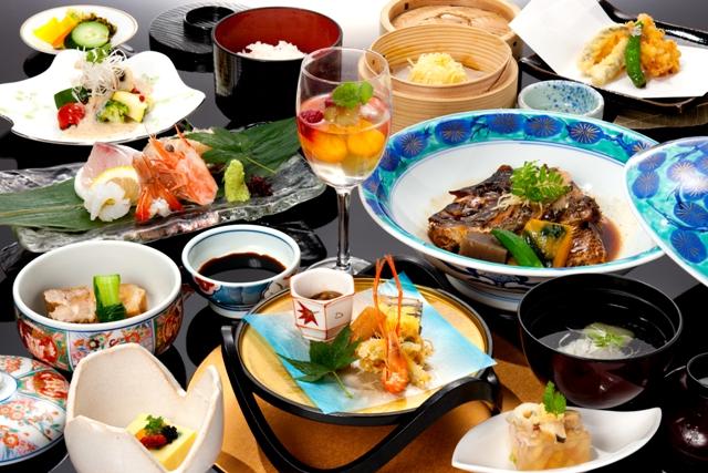 魚半スタンダード会席 お料理例