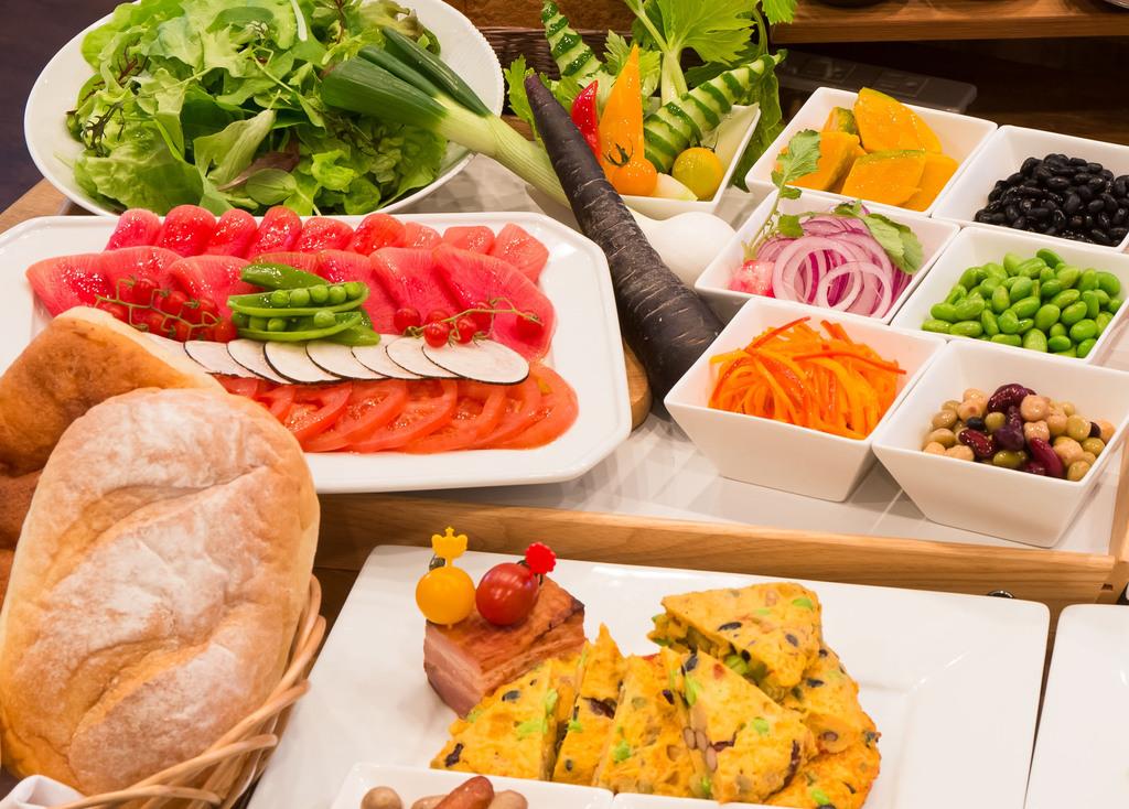 朝食(グランドマスターズカフェ)