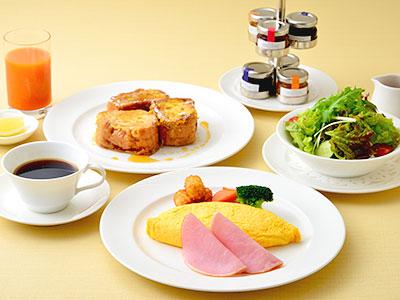 エッグ&フレンチトースト コンフォートフロア限定朝食♪