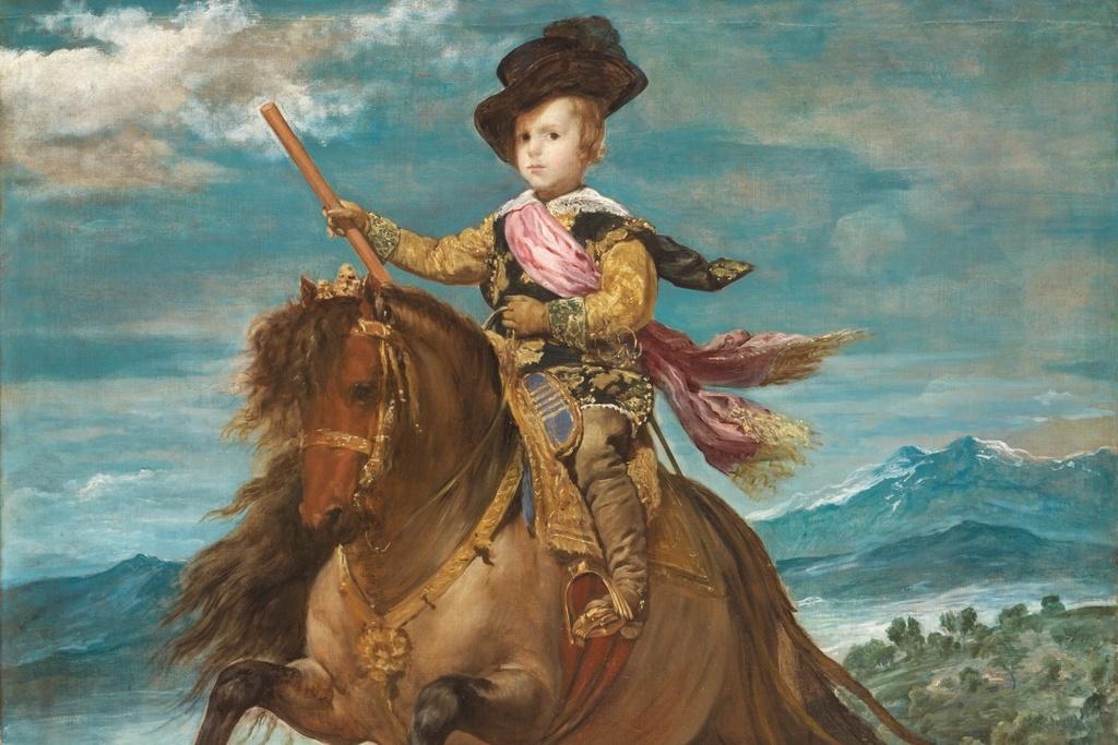 王太子バルタサール・カルロス騎馬像(部分)