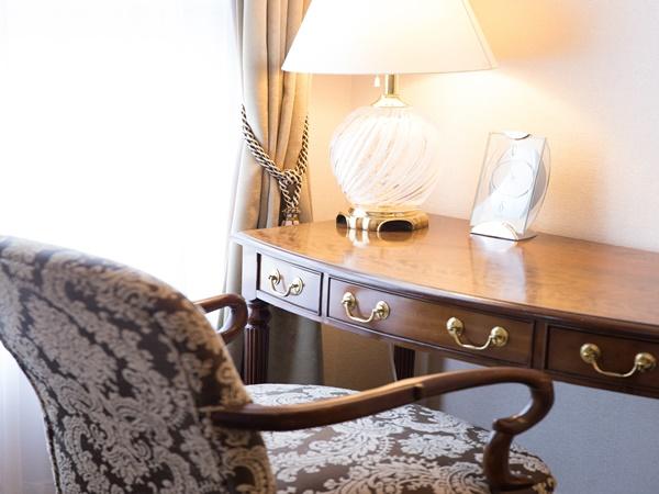 ■客室イメージ■随所に配した調度品で、気品漂う格調高い空間に仕上げました。