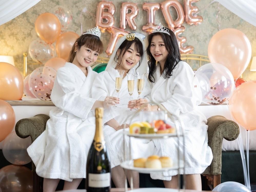 「バチェロレッテパーティープラン」 神戸北野ホテルでかけがえのない時間をつくりませんか。