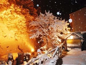 第二露天うえの雪景色