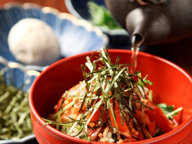 【朝食】鮭節からとったダシをかける朝食ブッフェの「あっぺメシ」ぜひご賞味を!