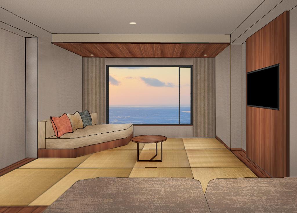 【海側和洋室】のイメージ画像1