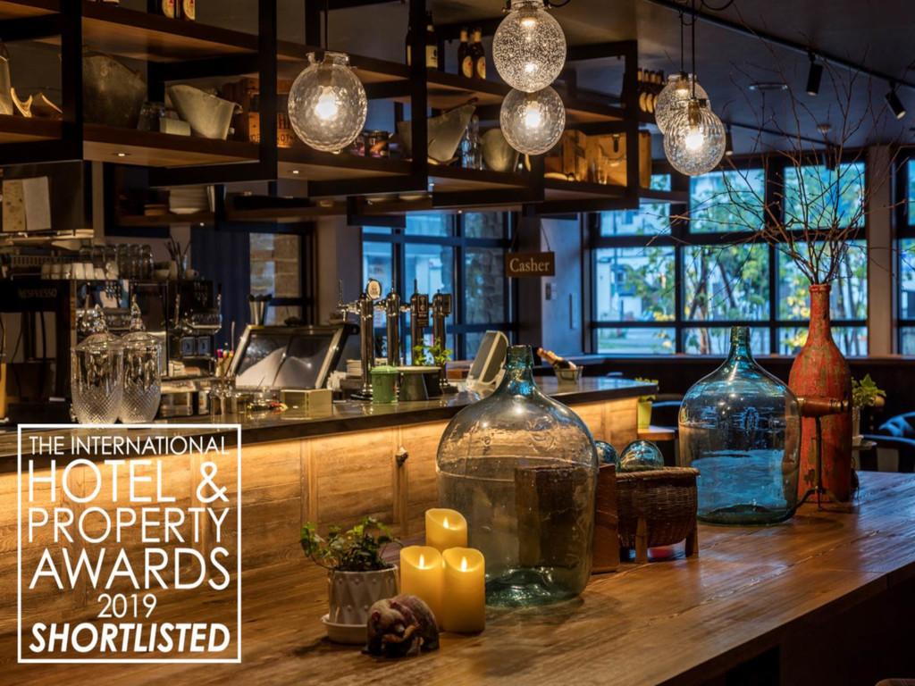 【Cafe&Bar334】名誉ある賞へノミネートされました。