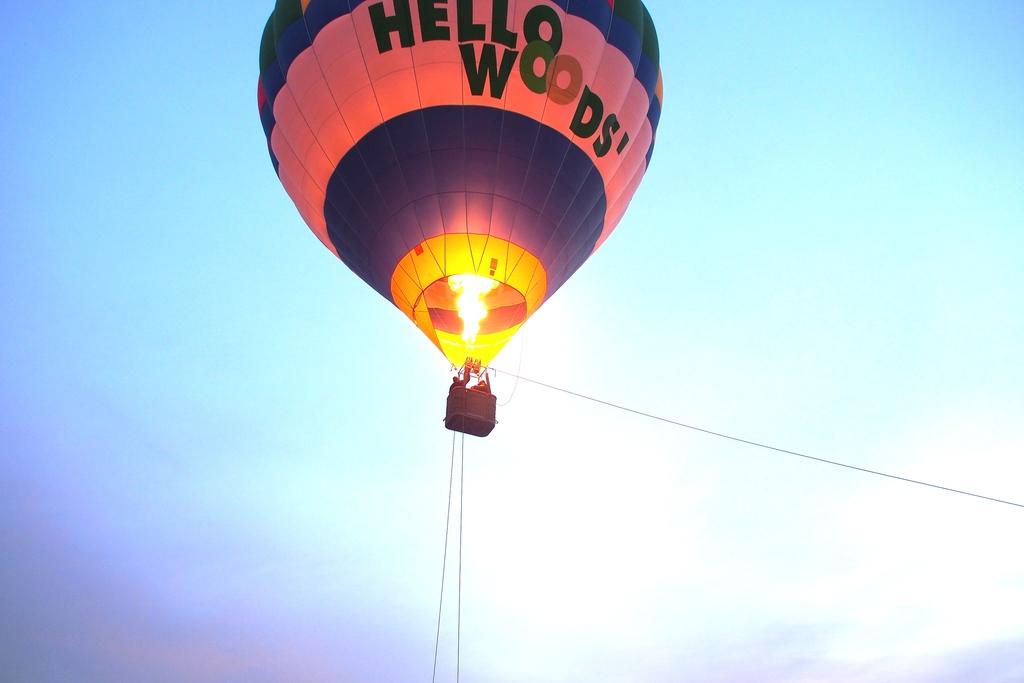 熱気球(イメージ)