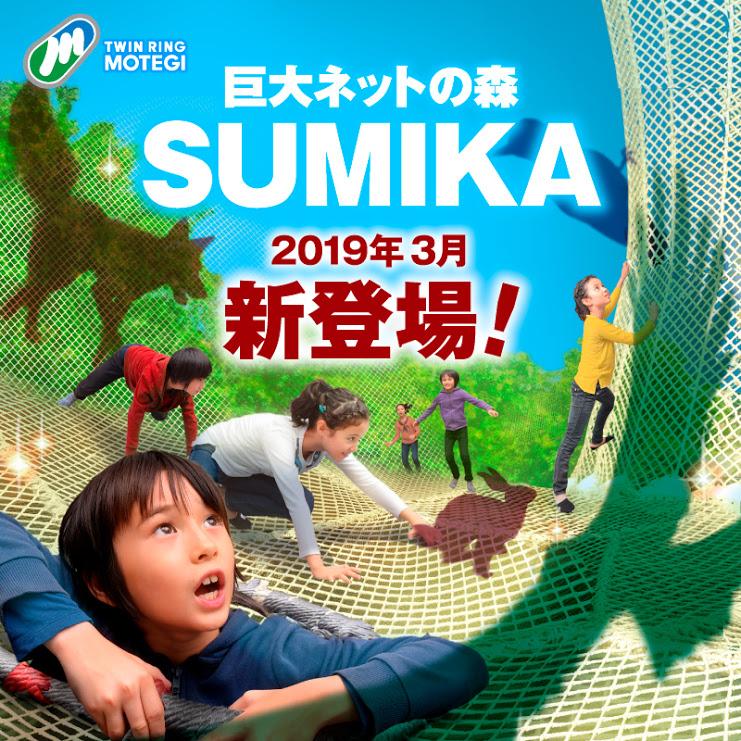 3月9日ついに登場!!巨大ネットの森SUMIKA