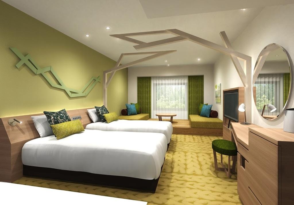 団らんをコンセプトとしたくつろぎの客室◆イメージ図