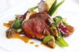 国産牛フィレ肉のグリエ(イメージ)