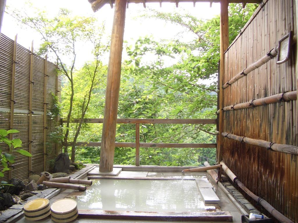 秋は紅葉露天〜無料貸切の露天風呂