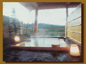 庭園貸切露天風呂
