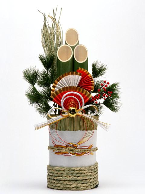 正月イメージ(門松)